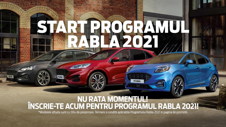 Cele mai bune oferte Ford Sibiu prin Programul RABLA