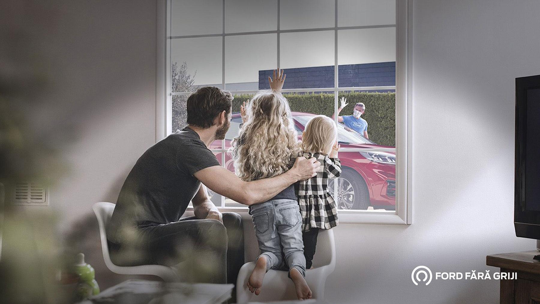 Digital și în siguranță. O nouă experiență Ford Service.